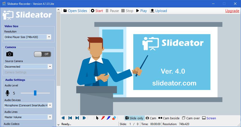 Slideator Recorder 4.0